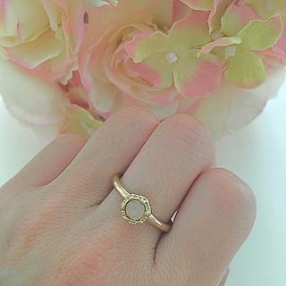 ピンクストーン  リング  指輪(リング(指輪))