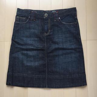 ギャップ(GAP)のGAP ストレッチ デニム  スカート サイズ XS(ひざ丈スカート)