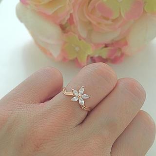 お花  リング  指輪(リング(指輪))