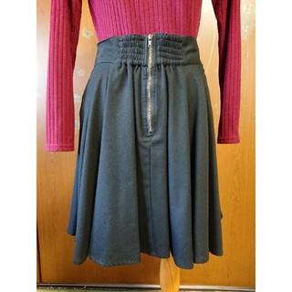 エージープラス(a.g.plus)のa.g.plus 黒のスカート(ひざ丈スカート)