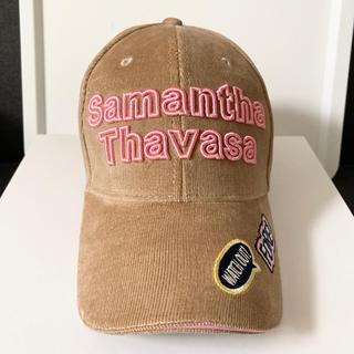 サマンサタバサ(Samantha Thavasa)のサマンサ ゴルフ キャップ サマンサタバサ 帽子(ウエア)