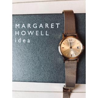 マーガレットハウエル(MARGARET HOWELL)の現行品 MARGARET HOWELL idea ダイヤモンド 腕時計¨̮♡︎(腕時計)