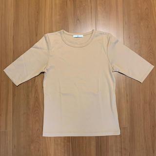 スライ(SLY)のSLY 無地Tシャツ ベージュ サイズ2 スライ(Tシャツ(半袖/袖なし))