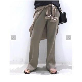 アパルトモンドゥーズィエムクラス(L'Appartement DEUXIEME CLASSE)の【t断捨離中様用】 L'Appartement Rib Knit パンツ(カジュアルパンツ)