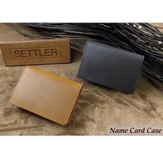ホワイトハウスコックス(WHITEHOUSE COX)のSETTLER セトラー 名刺入れ レザーカードケース OW7412(名刺入れ/定期入れ)
