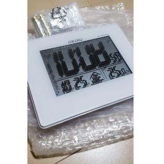 セイコー(SEIKO)のSEIKO 電波目覚まし時計 SQ697W(置時計)