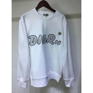 ディオール(Dior)のDIOR コットン スウェットシャツ KAWS コラボ 刺繍(トレーナー/スウェット)