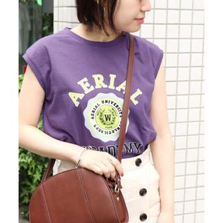 イエナ(IENA)のSLOBE IENA WIFFLE ノースリーブTシャツ(Tシャツ(半袖/袖なし))