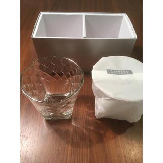 バーニーズニューヨーク(BARNEYS NEW YORK)の【新品】バーニーズ BARNEYSNEWYORK ペアグラスクリア ガラス(グラス/カップ)