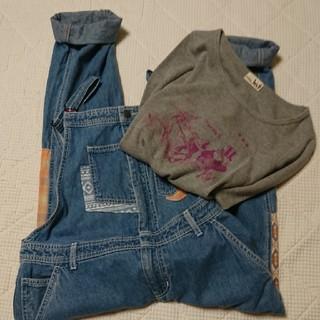 チチカカ(titicaca)のチチカカ  サロペットと長袖Tシャツのセット(サロペット/オーバーオール)