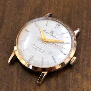 セイコー(SEIKO)のセイコー マーベル 19石 手巻き 稼働品 金メッキ Sマーク 鶴マーク(腕時計(アナログ))