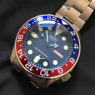 セイコー(SEIKO)のSEIKO セイコー SKX009 ネイビーボーイ カスタム  MOD(腕時計(アナログ))