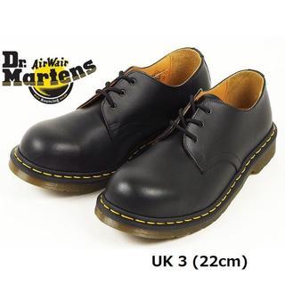 ドクターマーチン(Dr.Martens)のDr.Martens UK3 スチールトゥ 3ホール シューズ 黒 くろ(ブーツ)