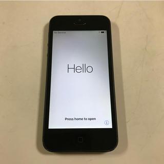アイフォーン(iPhone)のiPhone5(スマートフォン本体)