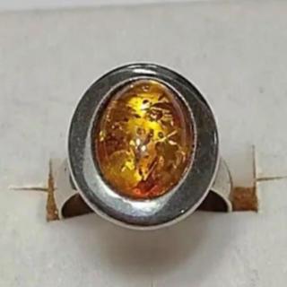 琥珀リング(リング(指輪))