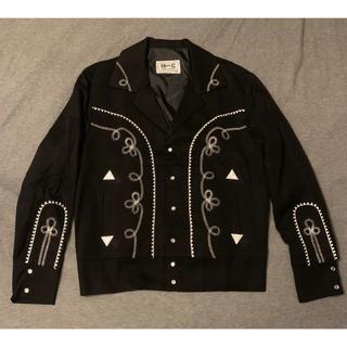 ワコマリア(WACKO MARIA)の新品 H BAR C Ranchwear ウエスタン ジャケット M ブラック(その他)
