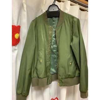 グリーンレーベルリラクシング(green label relaxing)のグリーンレーベルリラクシング MA-1ジャケット(ミリタリージャケット)