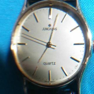 ユンハンス(JUNGHANS)のユンハンスの紳士用クォーツ時計(腕時計(アナログ))