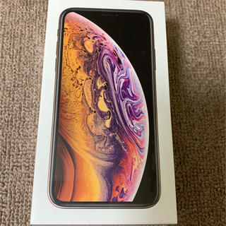 アイフォーン(iPhone)のMBS様専用 新品未開封品 iPhone Xs 64GB SIMフリー ゴールド(スマートフォン本体)