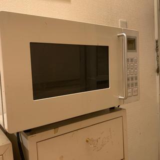 ムジルシリョウヒン(MUJI (無印良品))の無印良品 電子レンジ M-E10B(電子レンジ)