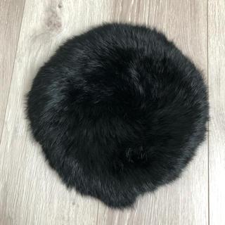 ナイン(NINE)のNINE ファーベレー(ハンチング/ベレー帽)