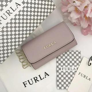 フルラ(Furla)の新品☆FURLA☆キーケース 6連式 カメリアピンク(キーケース)
