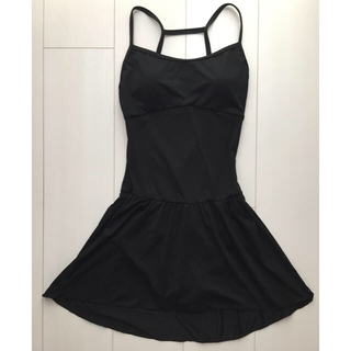 チャコット(CHACOTT)の新品タグ付き スカート付きレオタード ブラック(ダンス/バレエ)