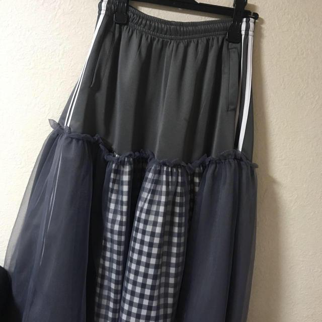 adidas(アディダス)のamatunal リメイクスカート レディースのスカート(ロングスカート)の商品写真