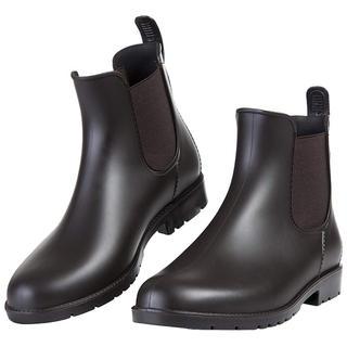 レインシューズ ショートブーツ 無地 大きいサイズ 男女兼用 (レインブーツ/長靴)
