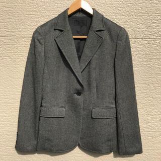 アイシービー(ICB)のiCB スーツ セットアップ ジャケット スカート カシミヤ混 グレー 7(スーツ)
