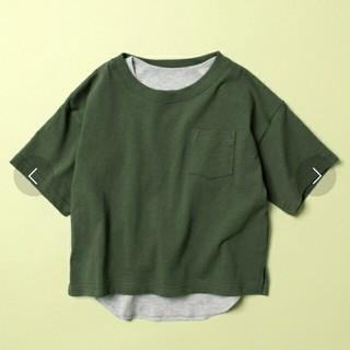 フリークスストア(FREAK'S STORE)のfreak's store web限定Kidsビッグシルエットレイヤードtシャツ(Tシャツ/カットソー)