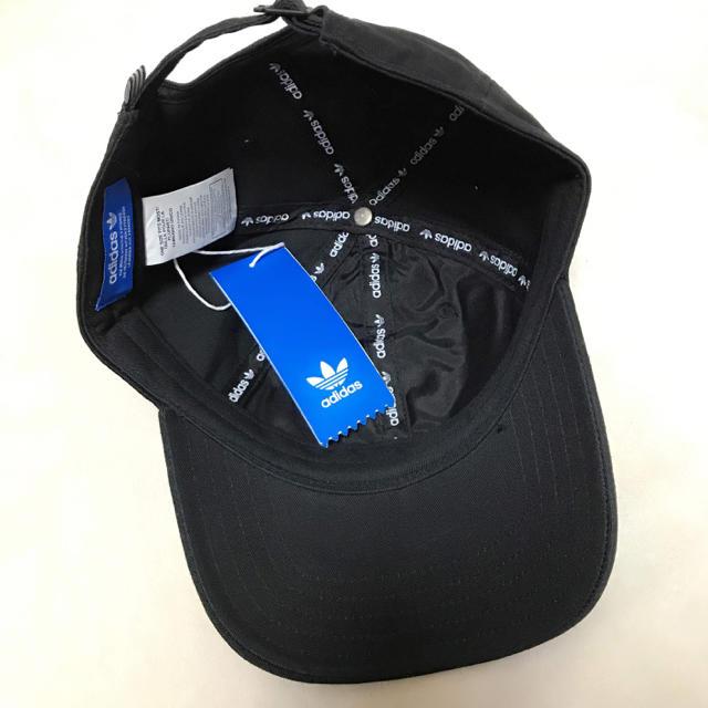 adidas(アディダス)のアディダス キャップ 黒 ブラック メンズの帽子(キャップ)の商品写真