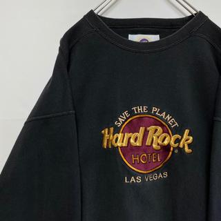 ハードロックカフェ hard rock cafe トレーナー スウェット 90s(スウェット)