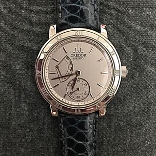 セイコー(SEIKO)の美品 SEIKO CREDOR 手巻き腕時計(腕時計(アナログ))