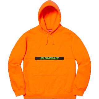 シュプリーム(Supreme)のSupreme zip pouch Hooded sweatshirt(パーカー)