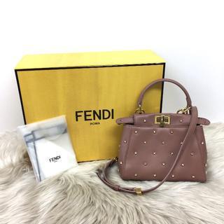 フェンディ(FENDI)の極美品 新作 フェンディ ピーカブーXS 2wayバッグ(ハンドバッグ)