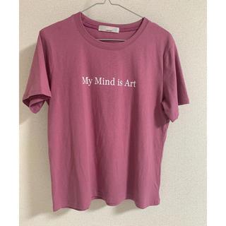 ミッシュマッシュ(MISCH MASCH)のMISCH MASCH   ピンクロゴTシャツ(Tシャツ(半袖/袖なし))