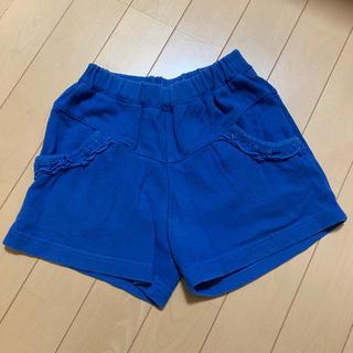 サンカンシオン(3can4on)のブルー ショートパンツ 130㎝(パンツ/スパッツ)