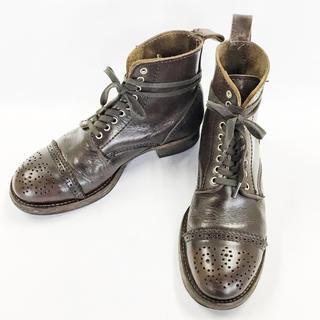 コムデギャルソン(COMME des GARCONS)のCOMME des GARÇONS ヴィンテージブーツ 26cm 濃茶(ブーツ)