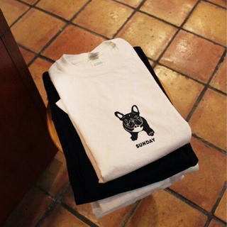 ジャーナルスタンダード(JOURNAL STANDARD)のSUNDAY  フレブル柄ロンT(Tシャツ(長袖/七分))