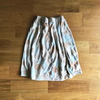 ミナペルホネン(mina perhonen)のsally schott スカート プリーツスカート(ひざ丈スカート)