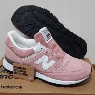 ニューバランス(New Balance)のNB W576 PNK made in UK(スニーカー)