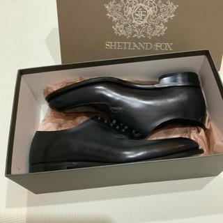リーガル(REGAL)の新品 シェットランドフォックス デューク ブラック 6.5 6 1/2 24.5(ドレス/ビジネス)