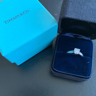 ティファニー(Tiffany & Co.)の廃盤 Tiffany ティファニー ルシダ エンゲージリング ダイヤモンド Pt(リング(指輪))
