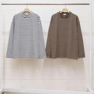 アンユーズド(UNUSED)の求  unused 19aw ボーダーロングTシャツ(Tシャツ/カットソー(七分/長袖))