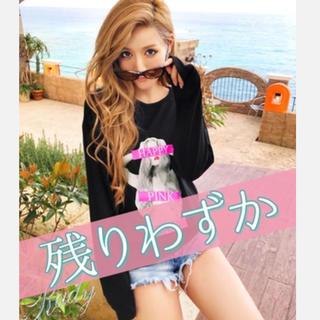 レディー(Rady)のRady♡ハッピーピンクちゃんトップス(Tシャツ(長袖/七分))