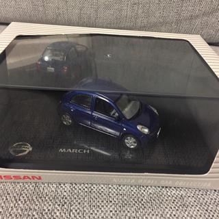 日産 - 日産モデルカー  コレクション  K12マーチ ダークブルー 京商製 1/43