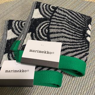 マリメッコ(marimekko)のマリメッコ  タオルハンカチ 2枚セット(ハンカチ)