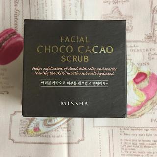 ミシャ(MISSHA)のミシャMISSA チョコレートスクラブ 韓国コスメ(その他)