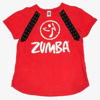 ズンバ(Zumba)の☆正規品☆ズンバZUMBA Tee Red サイズ:XS(Tシャツ(半袖/袖なし))